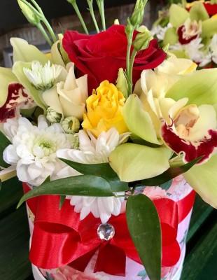 Flowerbox Orchidea