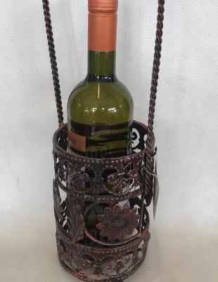 Držiak na víno kovový