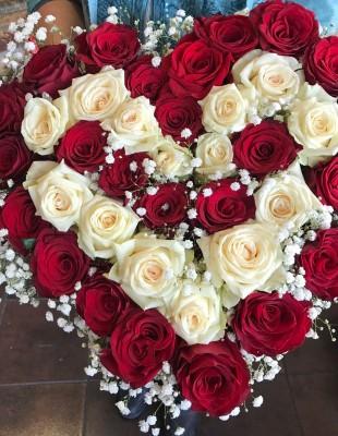 Kvetinový box ROSE